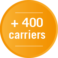 +400 carriers